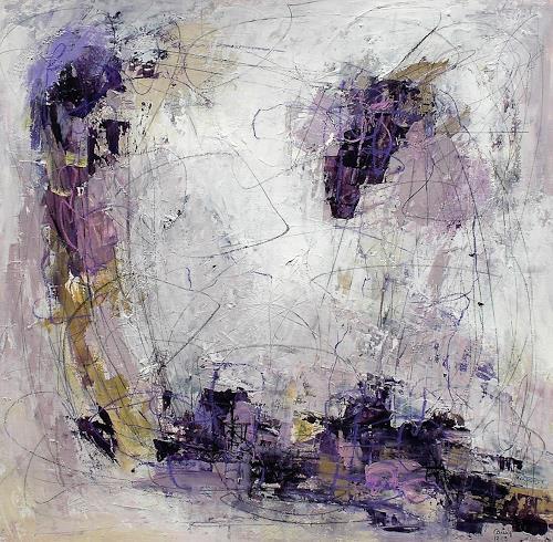Conny, Sound of autumn, Abstraktes, Gefühle: Geborgenheit, Abstrakter Expressionismus