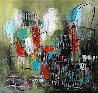 Conny-Gefuehle-Geborgenheit-Abstraktes-Moderne-Expressionismus-Abstrakter-Expressionismus