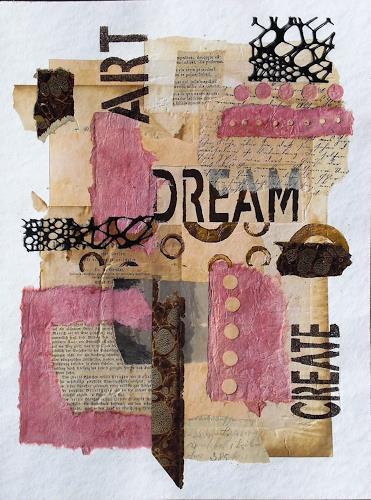 Conny, 043 Collage, Abstraktes, Gefühle: Freude, Informel