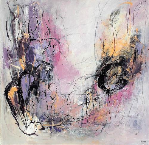 Conny, Tender feelings, Gefühle: Freude, Abstraktes, Abstrakter Expressionismus, Expressionismus