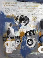 Conny-Fantasie-Abstraktes-Moderne-Expressionismus-Abstrakter-Expressionismus