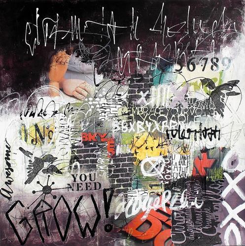 Conny, Grow 2, Diverse Gefühle, Mythologie, Informel, Abstrakter Expressionismus