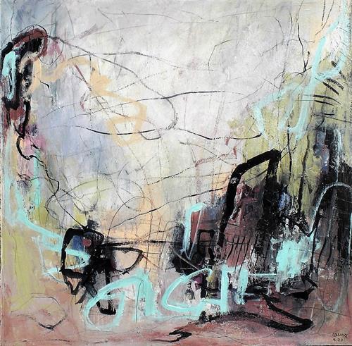 Conny, funny day, Abstraktes, Gefühle: Freude, Abstrakter Expressionismus