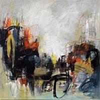 Conny-Abstraktes-Fantasie-Moderne-Expressionismus-Abstrakter-Expressionismus