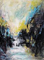 Conny-Natur-Wasser-Abstraktes-Moderne-Abstrakte-Kunst