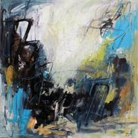 Conny-Abstraktes-Diverse-Bauten-Moderne-Expressionismus-Abstrakter-Expressionismus