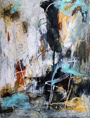 Conny, trust in life, Abstraktes, Gefühle: Geborgenheit, Abstrakter Expressionismus