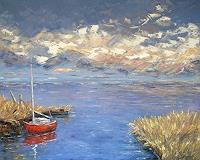 C. Hansen, Rotes Boot