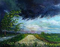 C. Hansen, Gewitterwolken