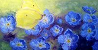 Claudia-Hansen-Landschaft-Sommer-Pflanzen-Blumen-Moderne-Impressionismus-Postimpressionismus