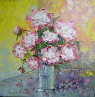 Claudia-Hansen-Pflanzen-Blumen-Stilleben-Moderne-Impressionismus-Postimpressionismus
