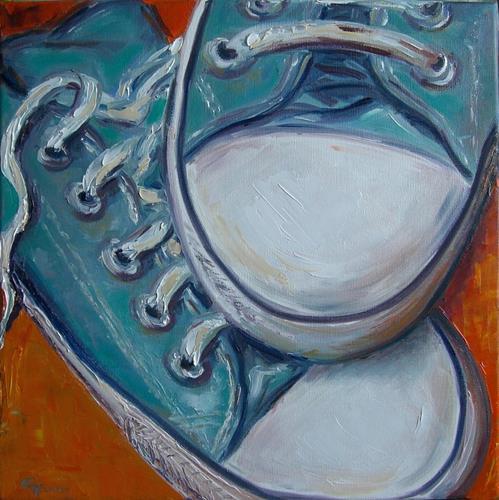 Claudia Hansen, Blue Chucks (Teil 3 /Trilogie), Fashion, Freizeit, Postimpressionismus