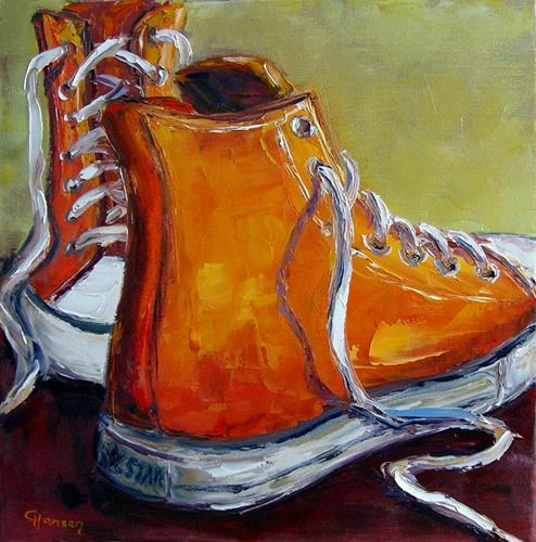 Claudia Hansen, Orange Chucks (Teil 2 /Trilogie), Fashion, Sport, Postimpressionismus