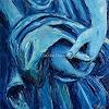 Claudia Hansen, Stilles Gebet   Eternal Prayer, Gefühle: Geborgenheit, Religion, Postimpressionismus
