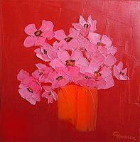 C. Hansen, Pink Flower
