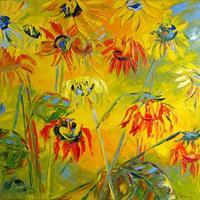 C. Hansen, Sonnenblumen - Over the Rainbow