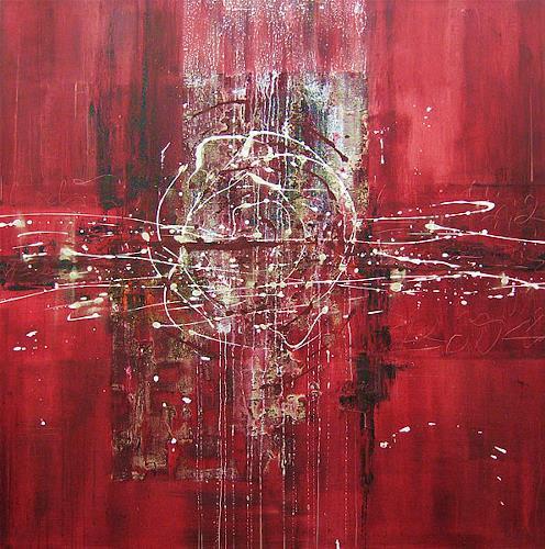 Nele Kugler, Galaxy, Abstraktes, Fantasie, Gegenwartskunst