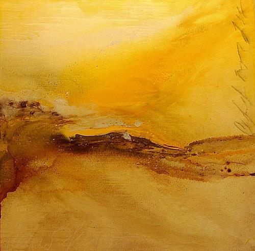 Nele Kugler, summer flow, Abstraktes, Landschaft: Sommer, Abstrakte Kunst