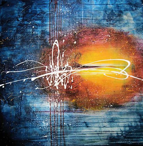 Nele Kugler, Insomnia, Abstraktes, Diverse Gefühle, Abstrakte Kunst