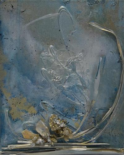 Nele Kugler, Strandgut, Abstraktes, Landschaft: Strand, Gegenwartskunst, Abstrakter Expressionismus