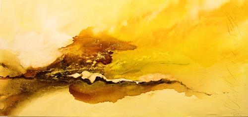 Nele Kugler, early summer, Abstraktes, Landschaft: Sommer, Abstrakte Kunst, Expressionismus