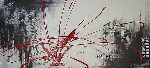 Nele Kugler, burnout_MATRIX, Abstraktes, Diverse Gefühle, Gegenwartskunst