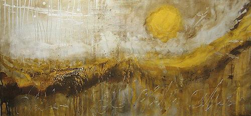 Nele Kugler, Watt II, Abstraktes, Landschaft: Strand, Gegenwartskunst
