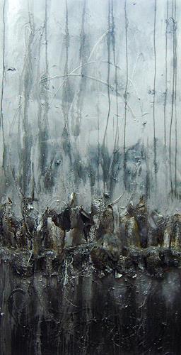 Nele Kugler, der Nachtbaum, Abstraktes, Natur: Wald, Gegenwartskunst