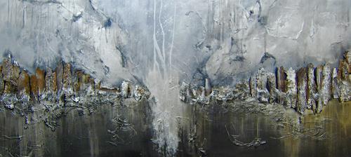 Nele Kugler, der Nachtbaum, Abstraktes, Natur: Wald, Gegenwartskunst, Expressionismus