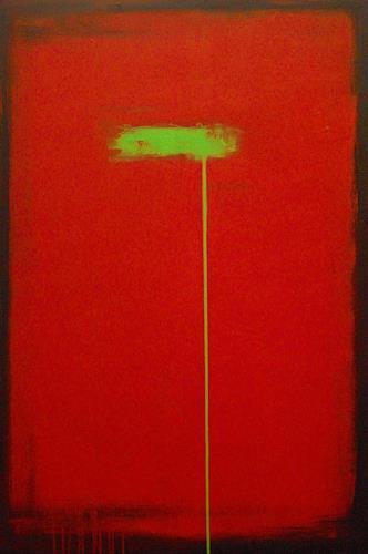 Nele Kugler, green mile IV, Abstraktes, Gesellschaft, Gegenwartskunst