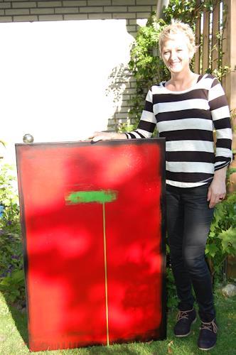 Nele Kugler, green mile IV, Abstraktes, Gesellschaft, Abstrakte Kunst