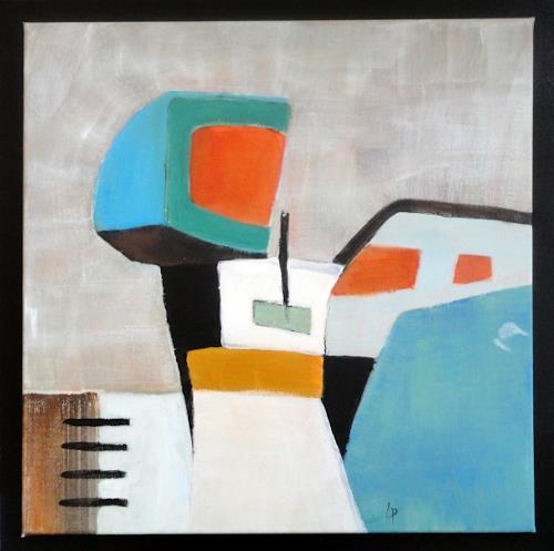 Gerda Lipski, o.T., Abstraktes, Arbeitswelt, Expressionismus