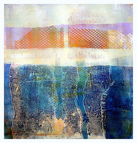 Gerda Lipski, o.T., Abstraktes, Landschaft: Ebene