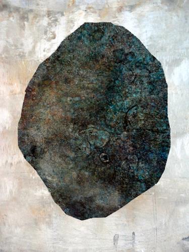 Gerda Lipski, o. T., Natur: Gestein, Abstrakter Expressionismus