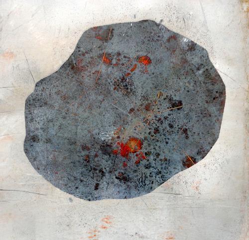 Gerda Lipski, o.T., Natur: Gestein, Expressionismus