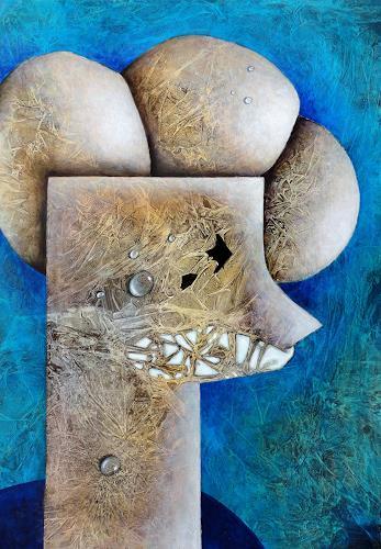 Gerda Lipski, o.T., Abstraktes, Abstrakter Expressionismus