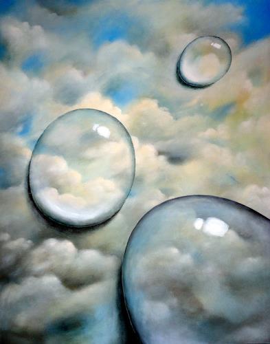 Gerda Lipski, HzweiO, Natur: Wasser, Natur: Luft, Abstrakter Expressionismus