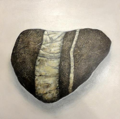 Gerda Lipski, Rheinkiesel 1, Natur: Gestein, Expressionismus