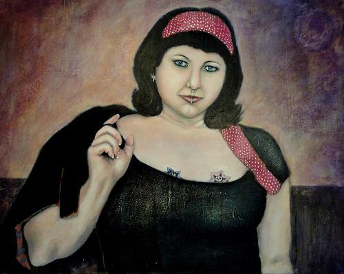 Gerda Lipski, retro power, Menschen: Frau, Expressionismus