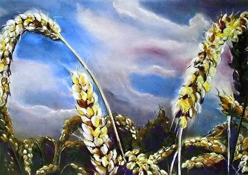 Ute Kleist, kurz davor, Pflanzen: Früchte, Gegenwartskunst, Expressionismus