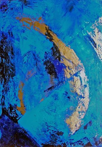 Ute Kleist, Und sie dreht sich doch!, Abstraktes, Natur: Erde, Gegenwartskunst, Expressionismus