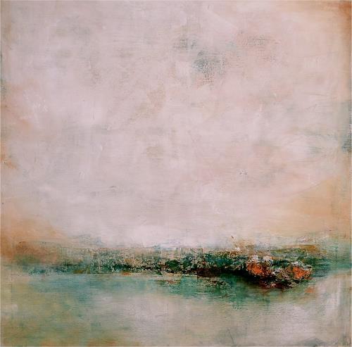 Ute Kleist, Morgendämmerung, Abstraktes, Gegenwartskunst, Expressionismus