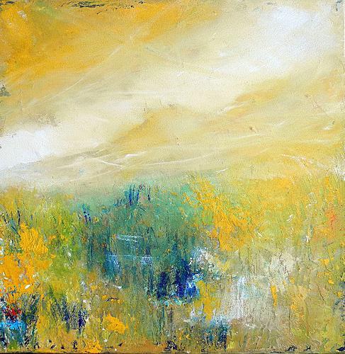Ute Kleist, und wir mittendrin, Landschaft: Sommer, Poesie, Gegenwartskunst, Expressionismus