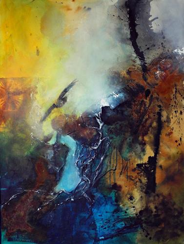 Ute Kleist, Die Kunst des Loslassens, Bewegung, Glauben, Gegenwartskunst, Abstrakter Expressionismus
