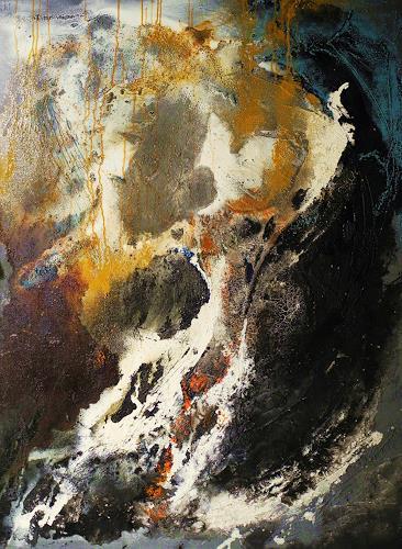 Ute Kleist, Urvertrauen, Abstraktes, Glauben, Gegenwartskunst, Abstrakter Expressionismus