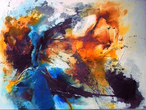 Ute Kleist, ein Teil von mir I, Abstraktes, Bewegung, Gegenwartskunst, Expressionismus