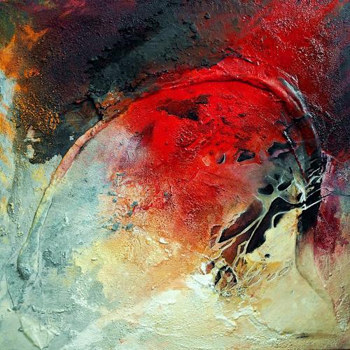 Ute Kleist, Öffne Dein Herz!, Abstraktes, Glauben, Gegenwartskunst, Expressionismus