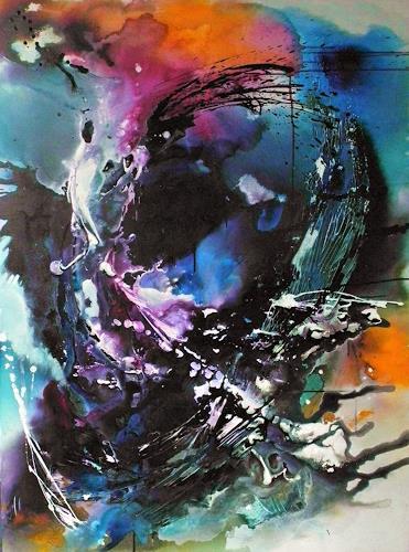 Ute Kleist, Freigeist, Abstraktes, Glauben, Gegenwartskunst, Abstrakter Expressionismus