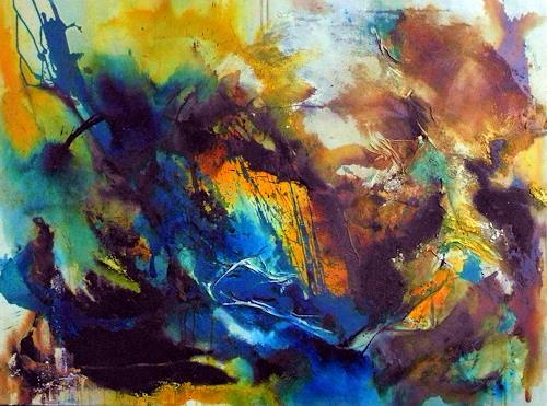 Ute Kleist, ein Teil von mir II, Abstraktes, Bewegung, Gegenwartskunst