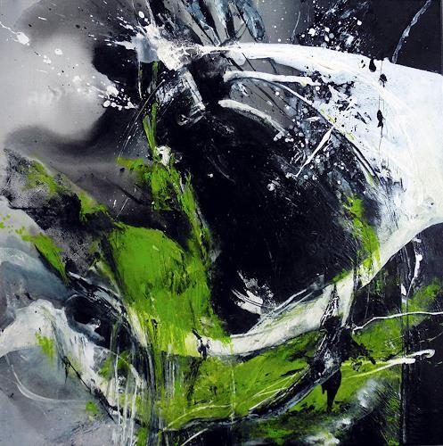 Ute Kleist, Geschenkte Zeit, Glauben, Gefühle: Geborgenheit, Gegenwartskunst, Abstrakter Expressionismus